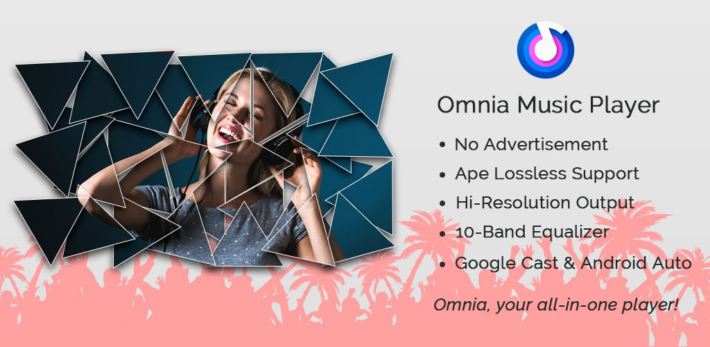 مشغل اومنيا - Omnia Music Player Premium